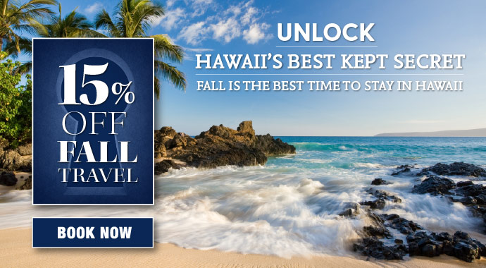 Save 15% off Best Daily Rates this Fall