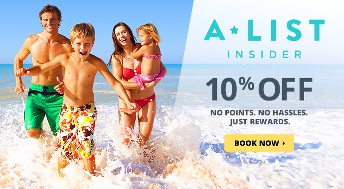 A-List Exclusive - Save 10% and recieve special perks