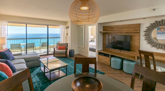 Waikiki condos aston waikiki beach tower aston hotels - 2 bedroom suites in waikiki beach ...