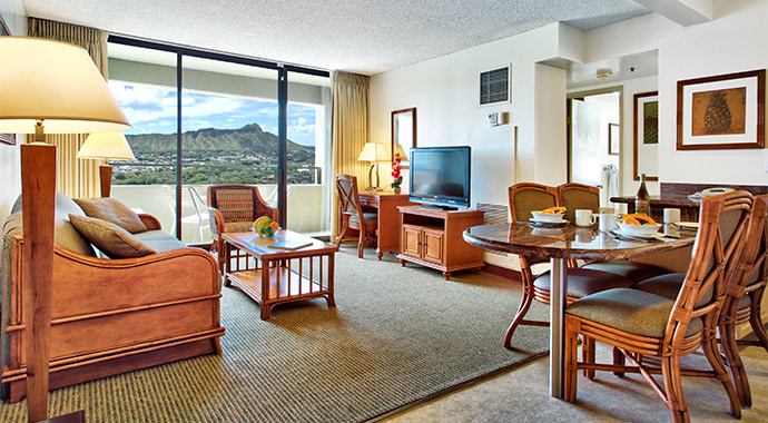 and two bedroom suites with complete kitchens private lanai hotel