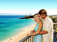 WHA 200x150 Room 2BDR Oceanfront with View from Lanai with Couple