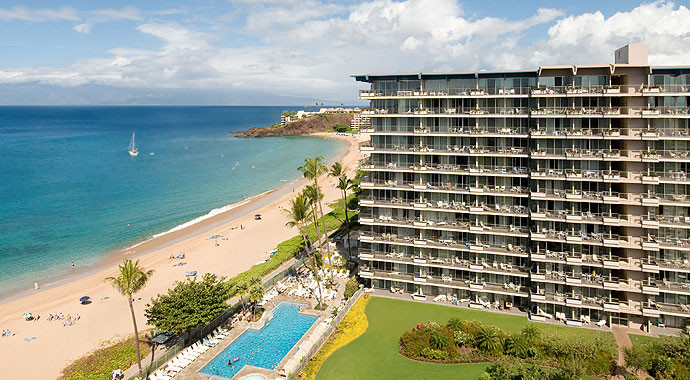 The Resort Is Conveniently Located Directly On Kaanapali Beach