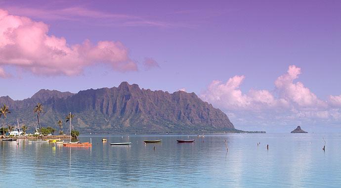 image of kaneohe bay kualoa and mokolii on oahus east coast - Oahu Hotels And Resorts