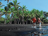200x150 Big Island Couple Black Sand Beach
