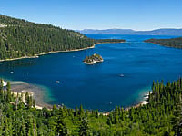 200x150 Lake Tahoe Summer View of Emerald Bay