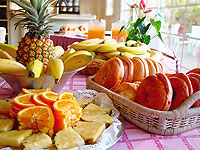Thumbnail Rise & Dine Daily breakfast for two fruit display